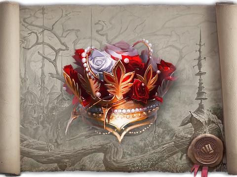 Истинная Корона Царицы Цветов