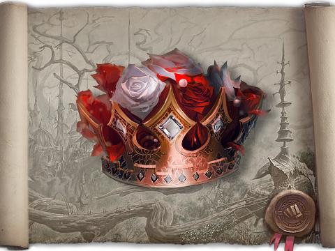 Корона царя цветов бк мебельную ткань купить в розницу