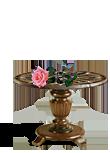 Грубый столик для Цветов